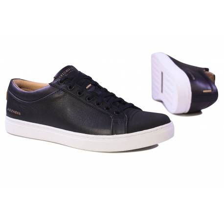 SP SKECHERS HOMME AIR-COOLED MEMORY FORM NOIR